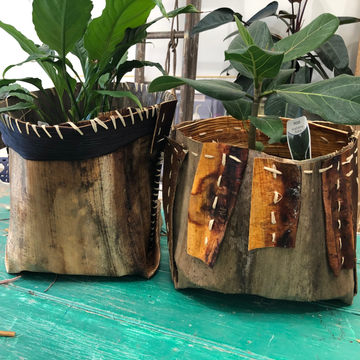 Palm Leather Basket Workshop (30 August 2020)
