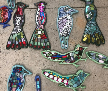 Mosaic Bird Mobiles Workshop (25 January 2020)