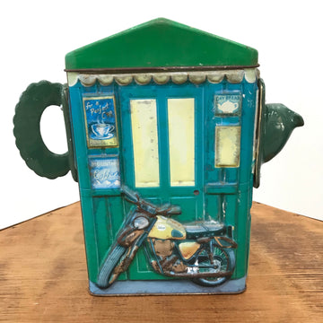 Fiona the Collector Tin Teapot: Filtered Coffee