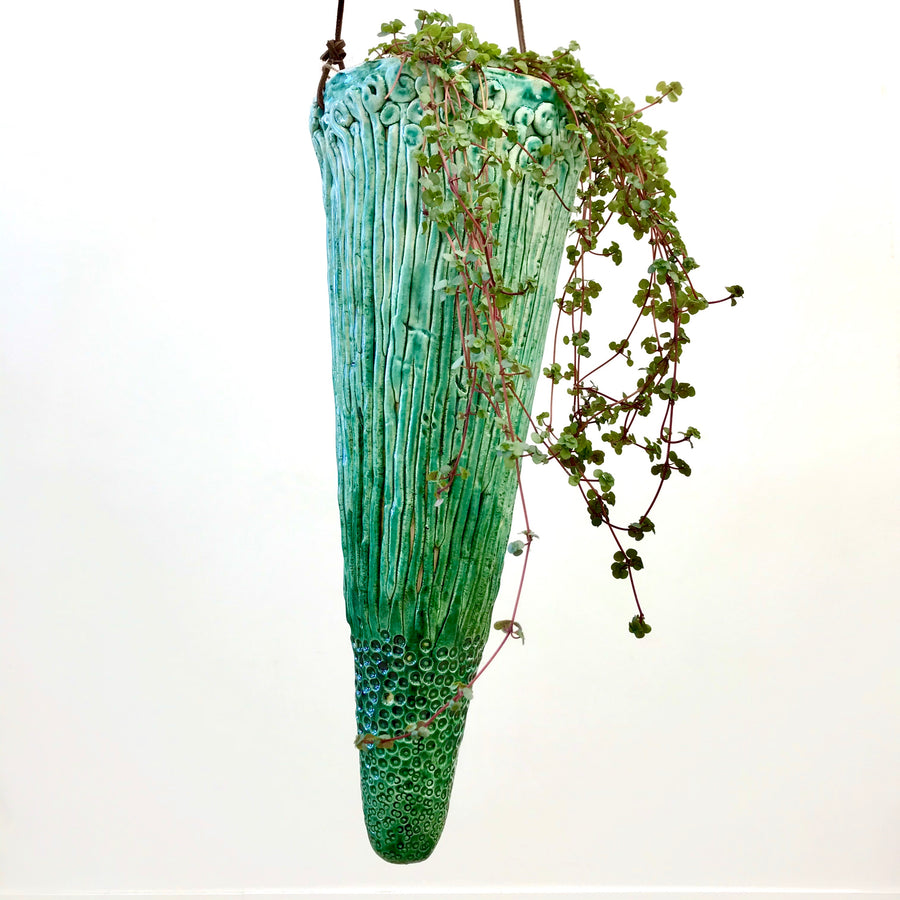 Jane du Rand Botanical Hanging Planter - Large