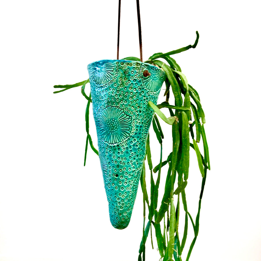 Jane du Rand Botanical Hanging Planter - Small