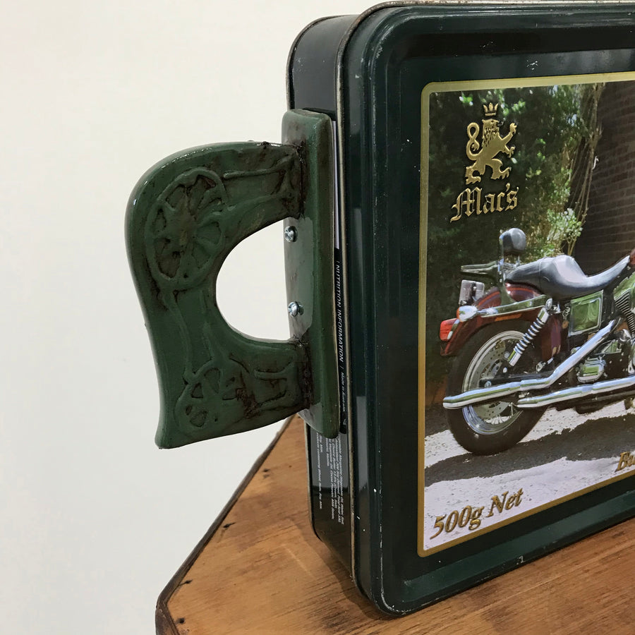 Fiona the Collector Tin Teapot: Mac's Motorcycle
