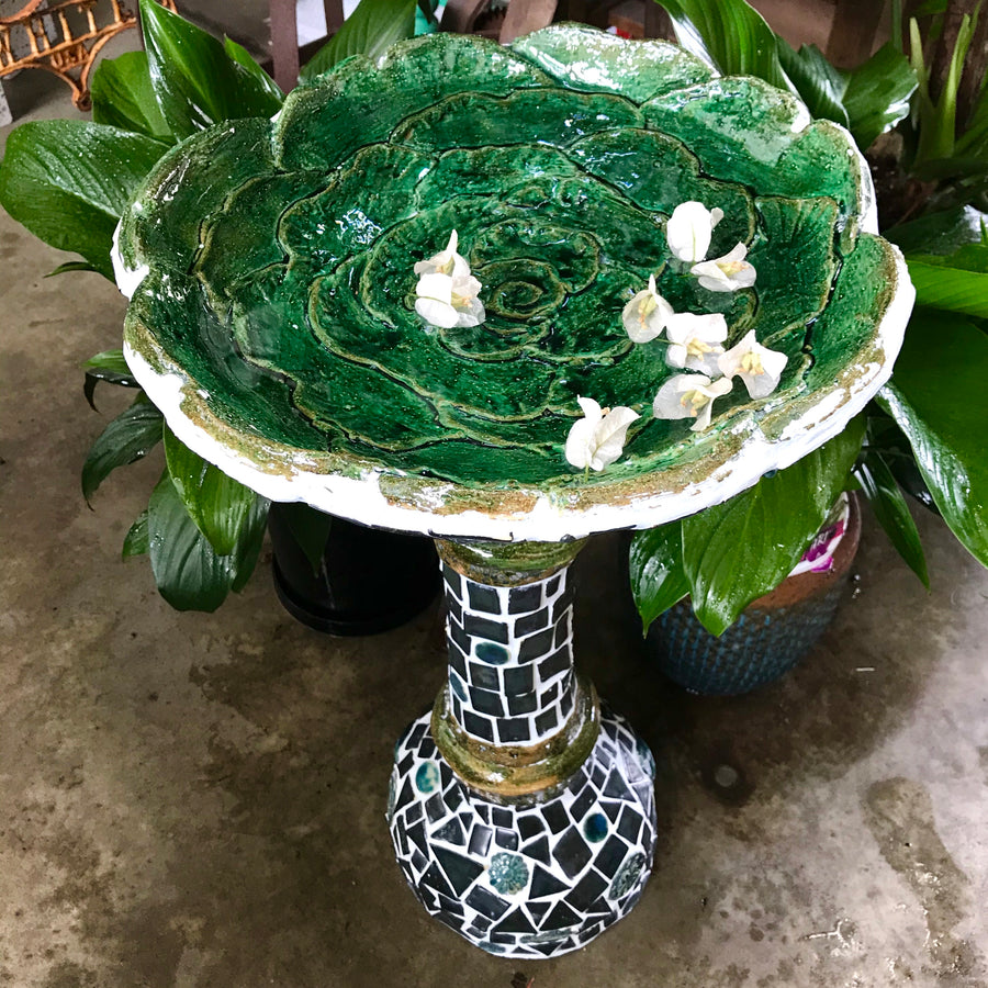 Ceramic Bird Bath Workshop (7-21 November)