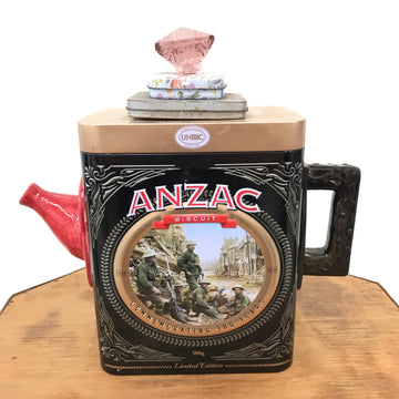 Fiona the Collector Tin Teapot: ANZAC