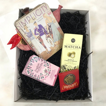 Fiona the Collector Mother's Day Hamper: Tea and Chocolates