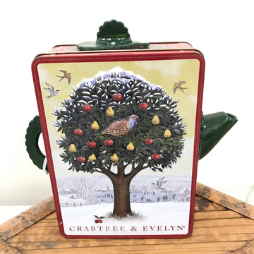 Fiona the Collector Tin Teapot: Crabtree