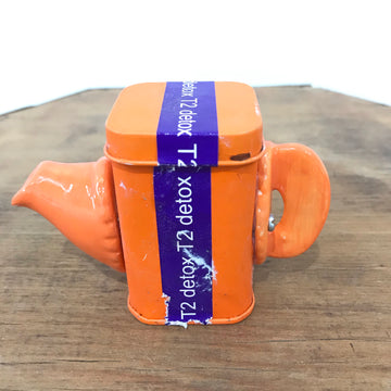Fiona the Collector Tin Teapot: T2 Please - Purple