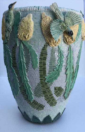 Large Mosaic Planter Workshop (15 May – 12 June)