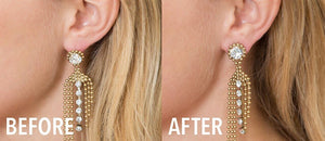 Earring Lifters for Stretched Earlobes - Wonderbacks