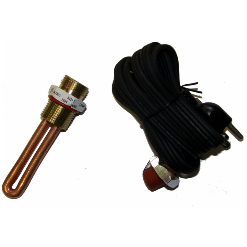 Block Heater Element and Cord for 6.0L 6.4L 6.7L Ford Powerstroke