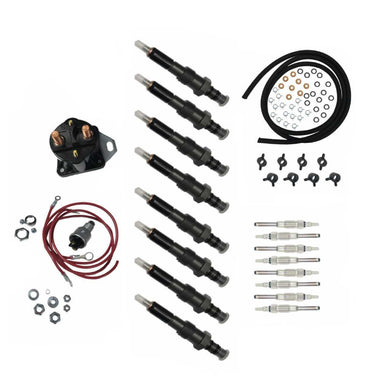 Maintenance Kit, Injectors, Glow Plugs, Fuel Lines, Glow Plug Controller