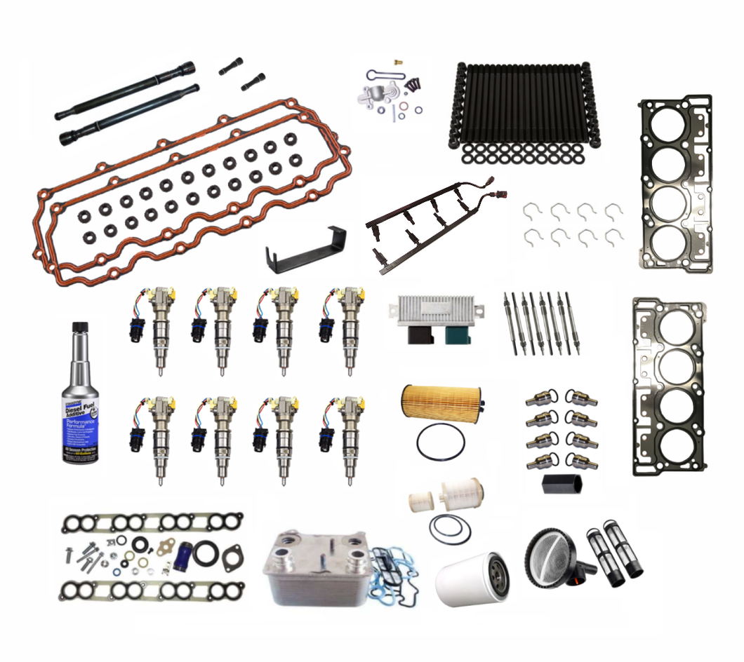 Complete Solutions Kit with Gaskets for 6.0L Ford Powerstroke Applications