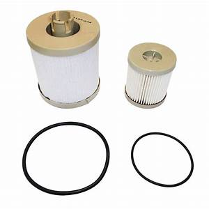 Fuel Filter Element Service Kit for 4.5L 6.0L Ford Powerstroke (PFF4616)