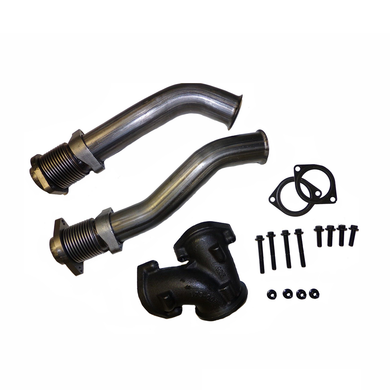 1999.5 and up Bellowed Up Pipe Kit for 7.3L Ford Powerstroke Turbo