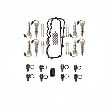 Remanufactured Injectors & Fuel Systems Restoration Kit for 6.0L Ford Powerstroke