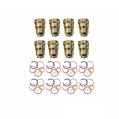 Fuel Injector Cup / Sleeve Kit, O-rings Included for 7.3L Ford Powerstroke