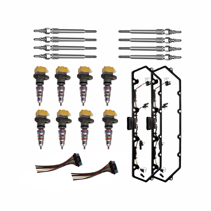 Remanufactured AB Injectors & Installation Kit for 7.3L Ford Powerstroke