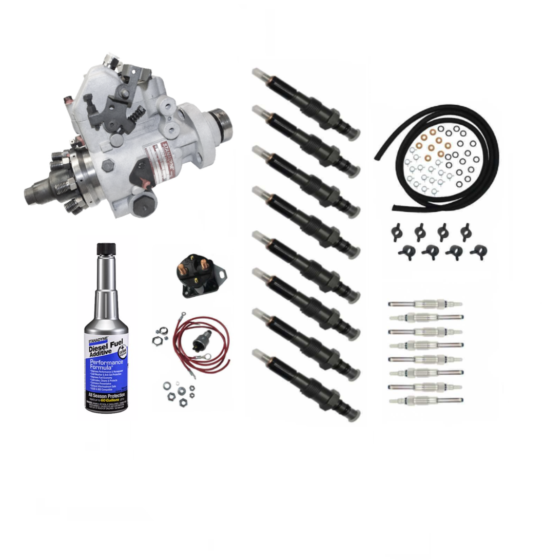 Premium 200K Mileage Maintenance Kit for 6.9L 7.3L IDI Ford International
