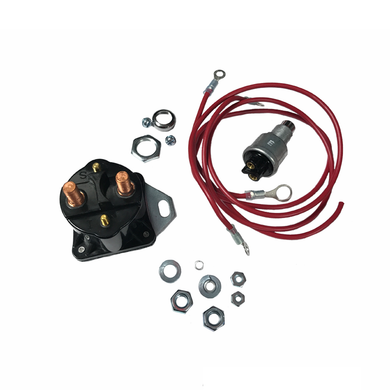 Glow Plug Manual Relay Controller Solenoid Kit for 6.9L 7.3L IDI Ford International
