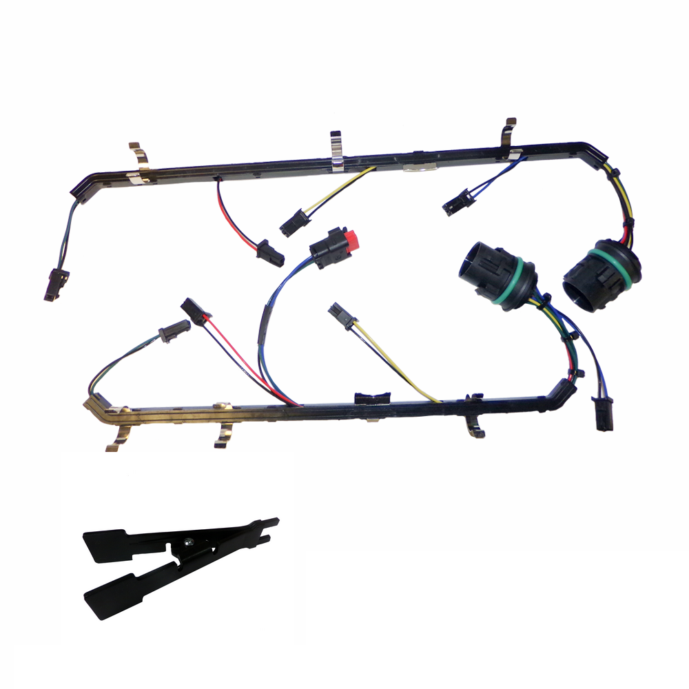 6.4L Fuel Injector Harness with Tool