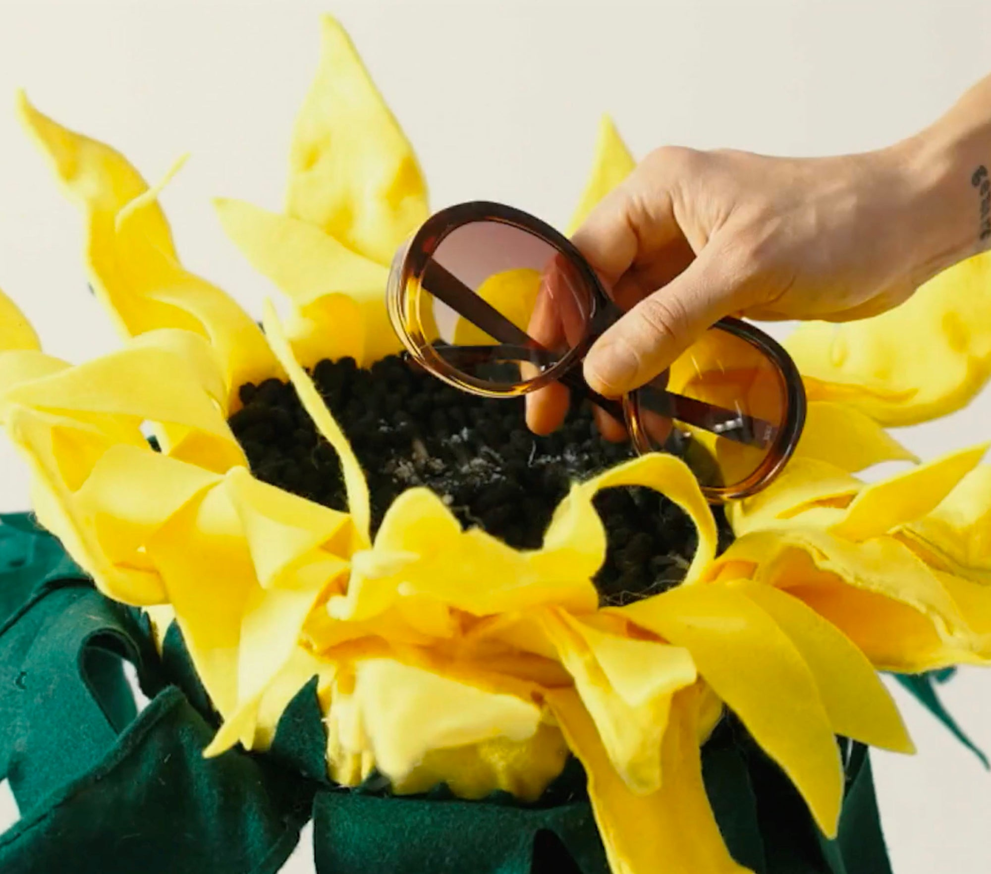 Sunglasses made from plants