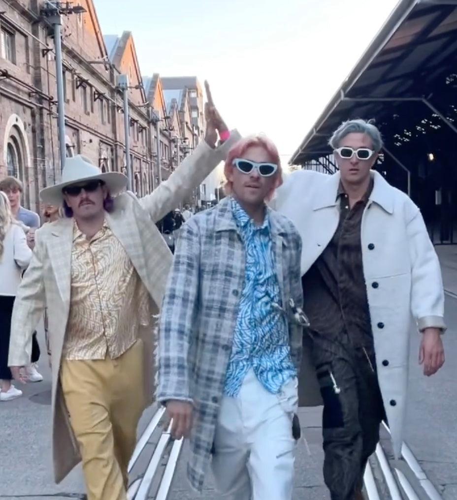 Don Littrich and the Inspired Unemployed at Australian Fashion Week