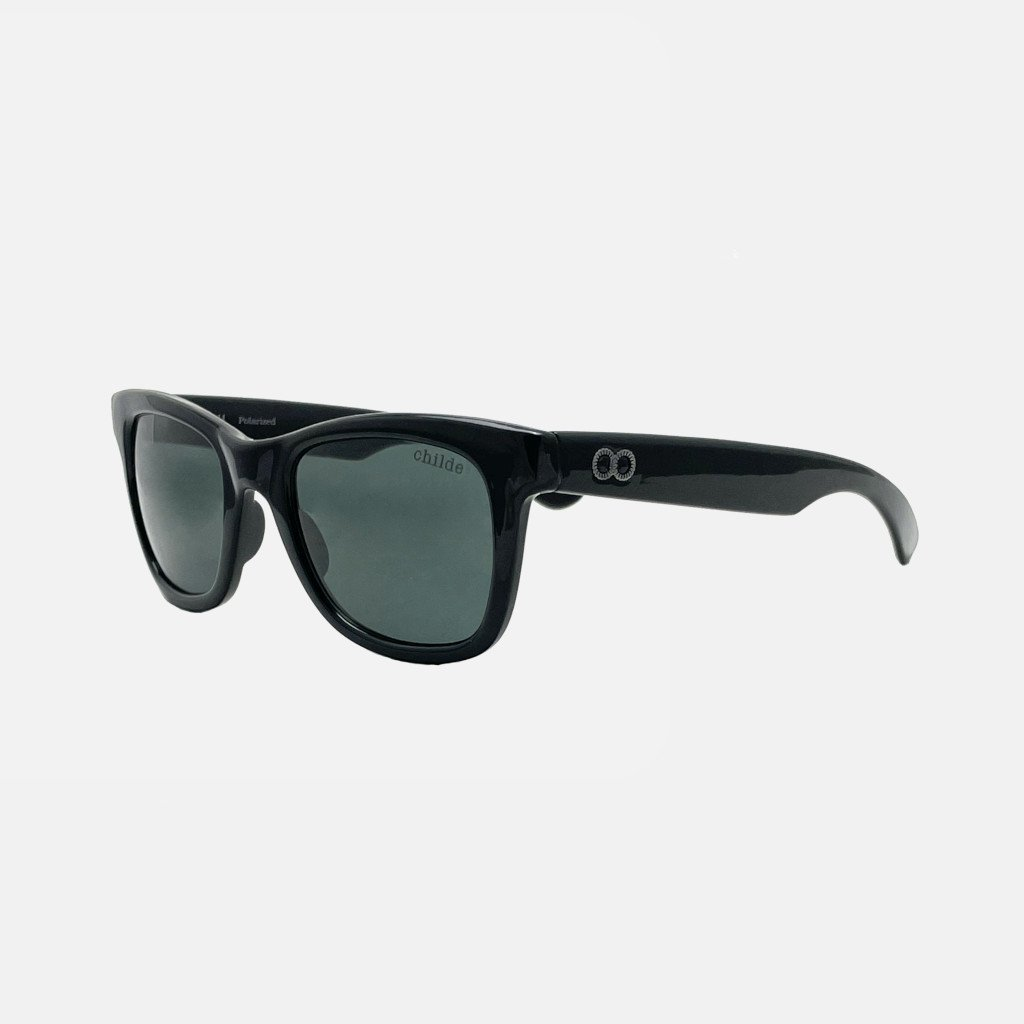 CASH Gloss Black | Green Polarised Lens