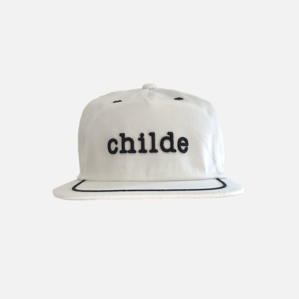 Childe Embroided Pinline Cap