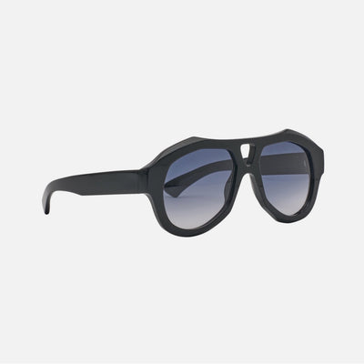 DEBASER Gloss Black | Grey Gradient Lens