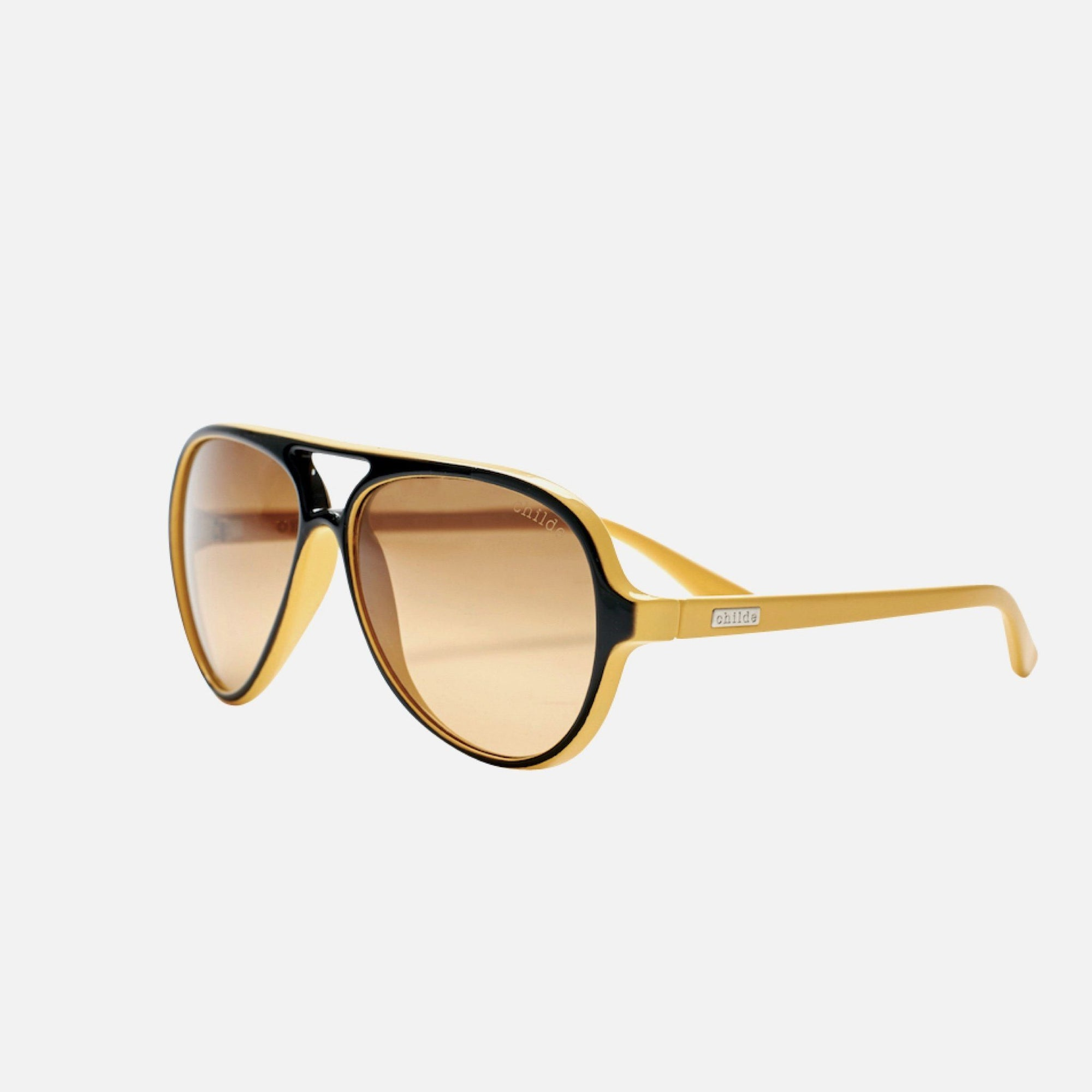 DELETE Bee Sting Lemon Black | Amber Double Gradient Lens