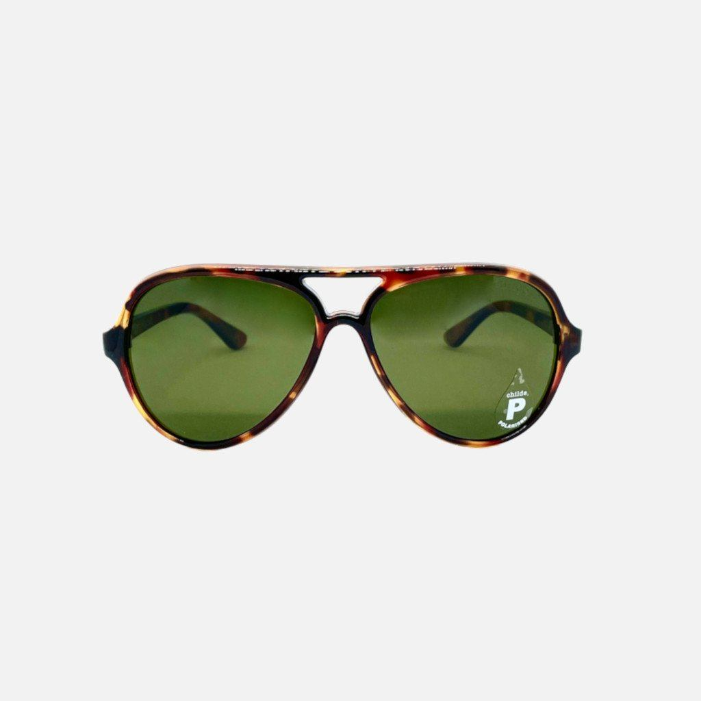 DELETE Gloss Tort | Green Polarised Lens