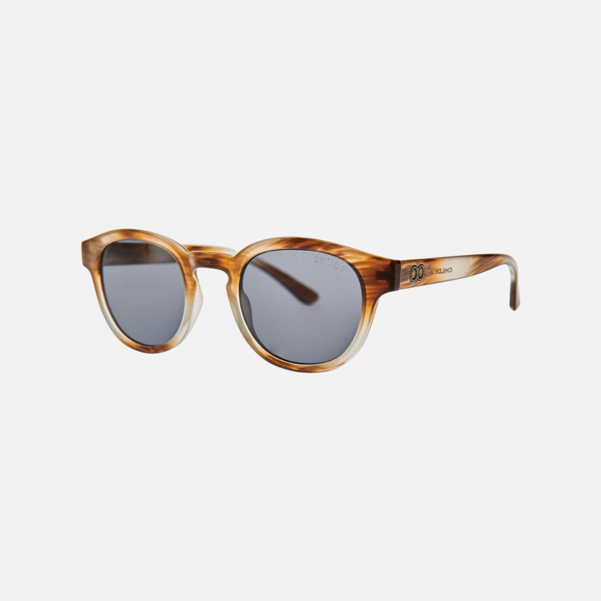 ERROL Crystal Sandalwood Grain | Grey Lens