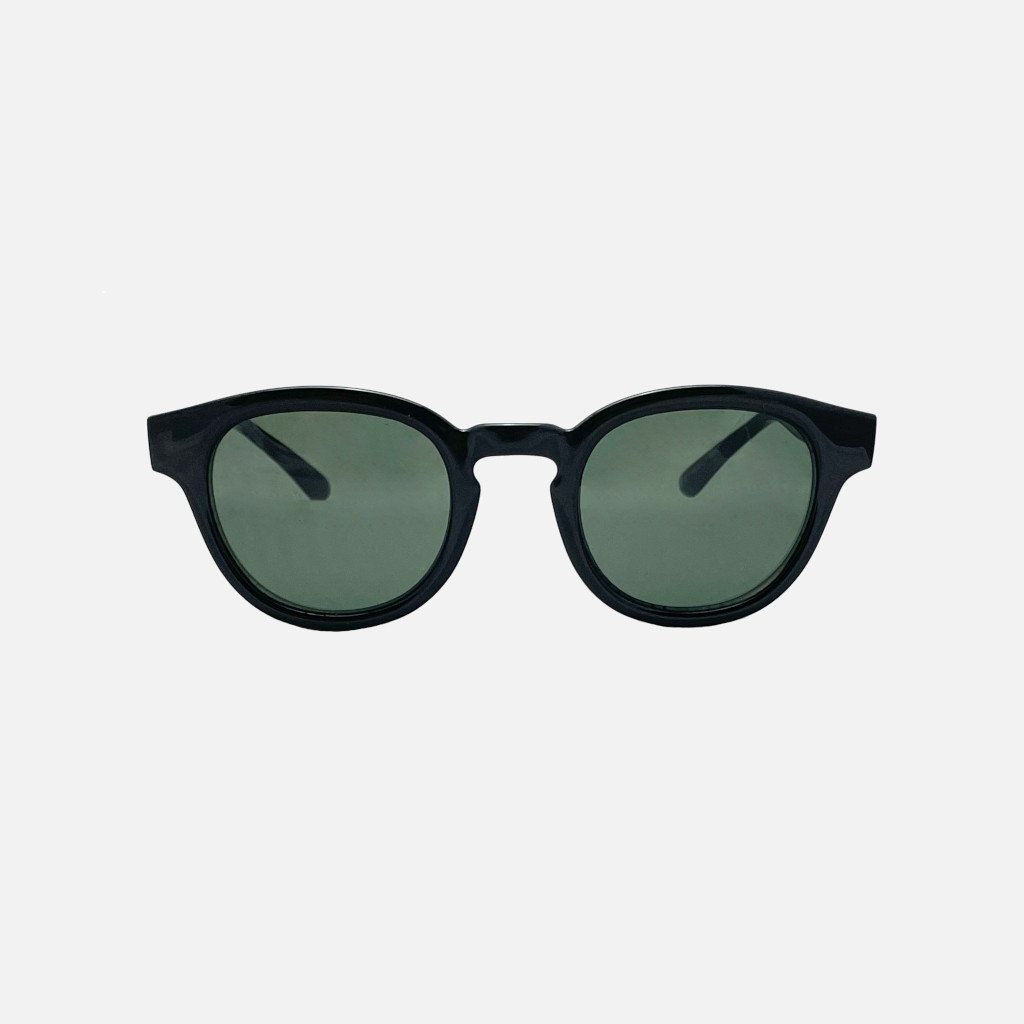 ERROL Gloss Black | Green Polarised Lens
