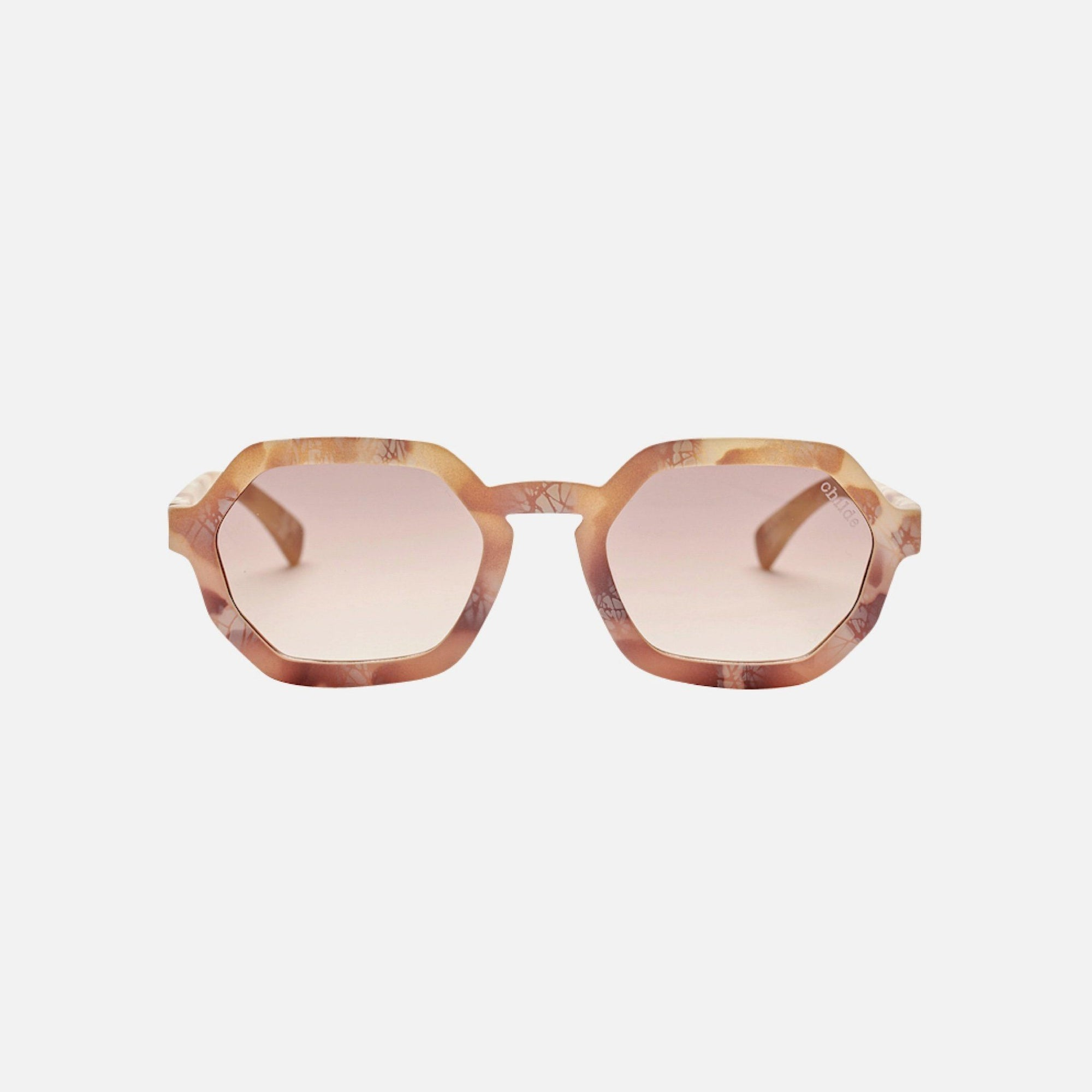 EXIT Marble Stone Rose | Amber Mirror Gradient Lens