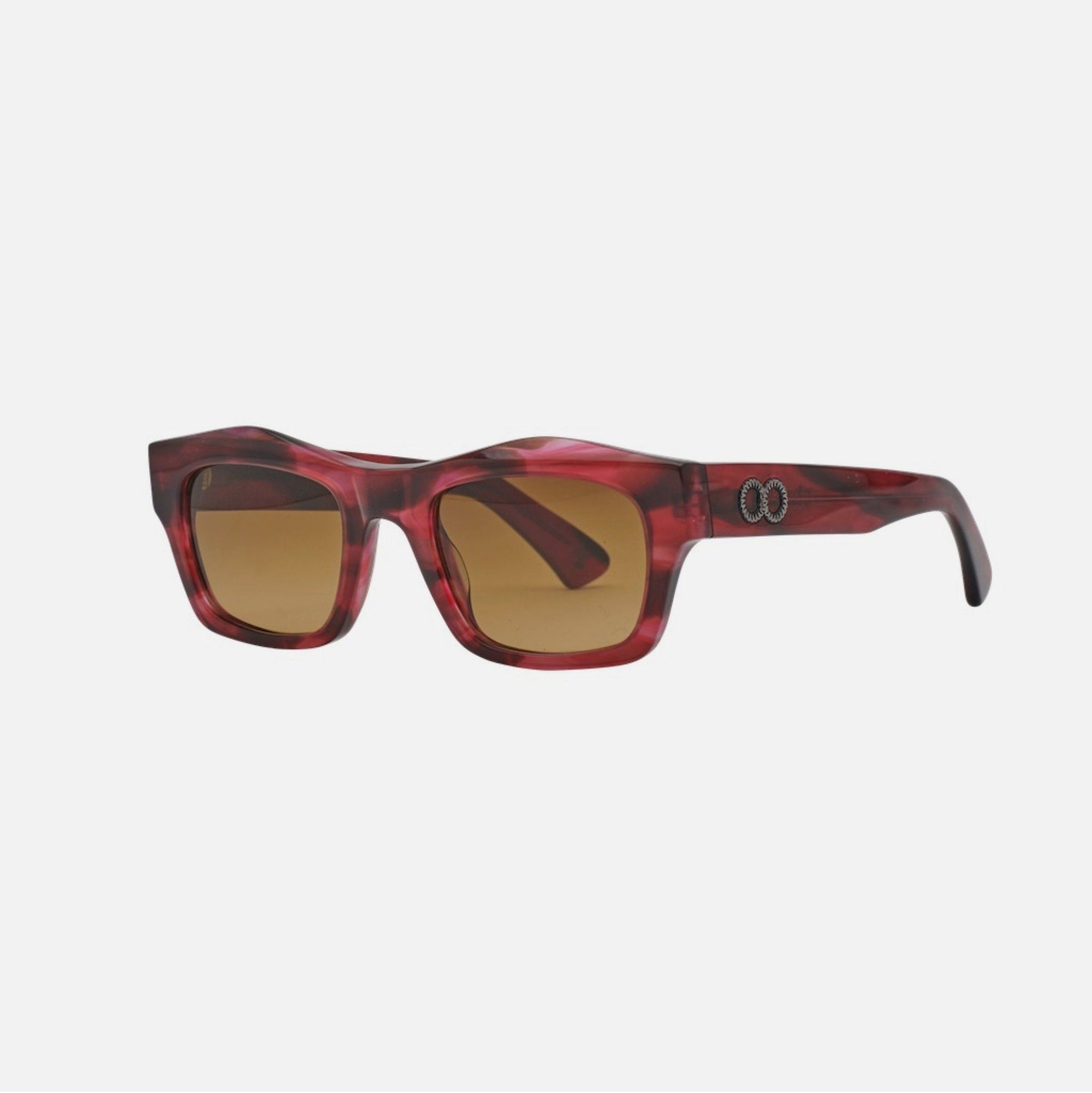 FOLSOM Bio-Acetate Ozzy Rouge | Amber Gradient Lens