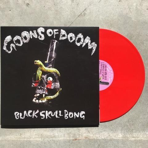 GOONS OF DOOM - Black Skull Bong 12""