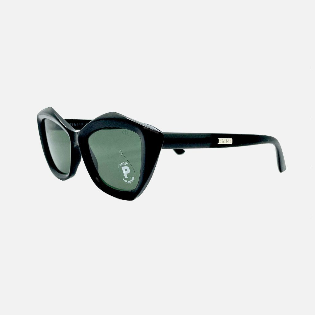 INFINITE Gloss Black | Green Polarised Lens