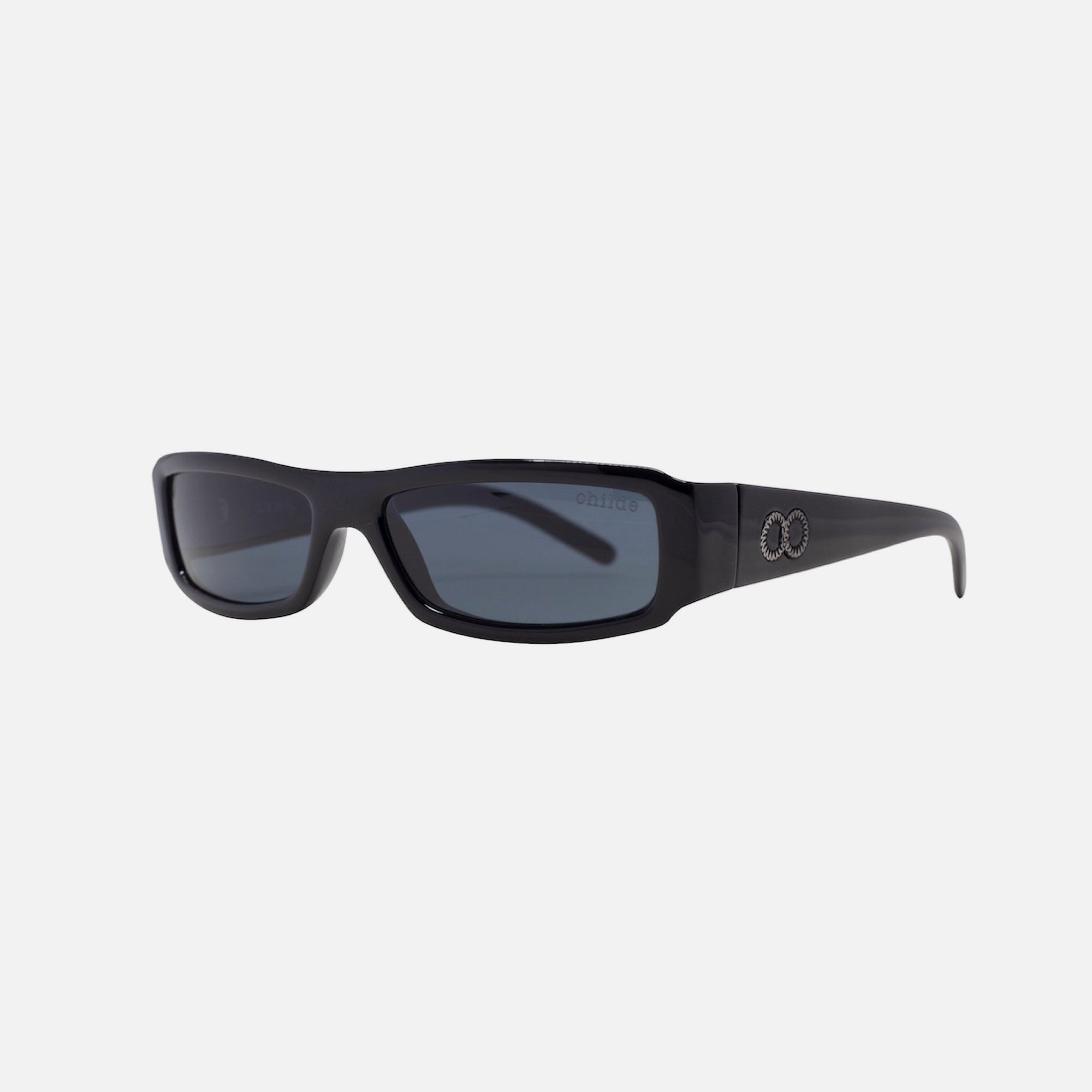 LYRIC Gloss Black | Grey Lens
