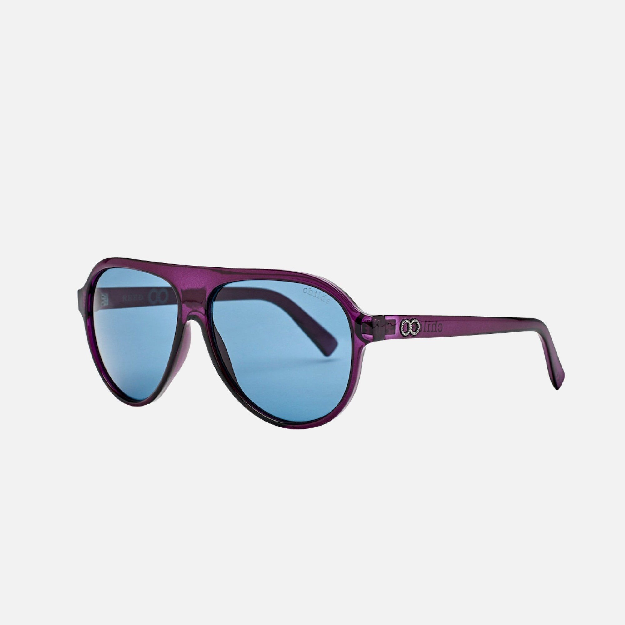 REED Translucent Plum Purple | Blue Telluric Lens