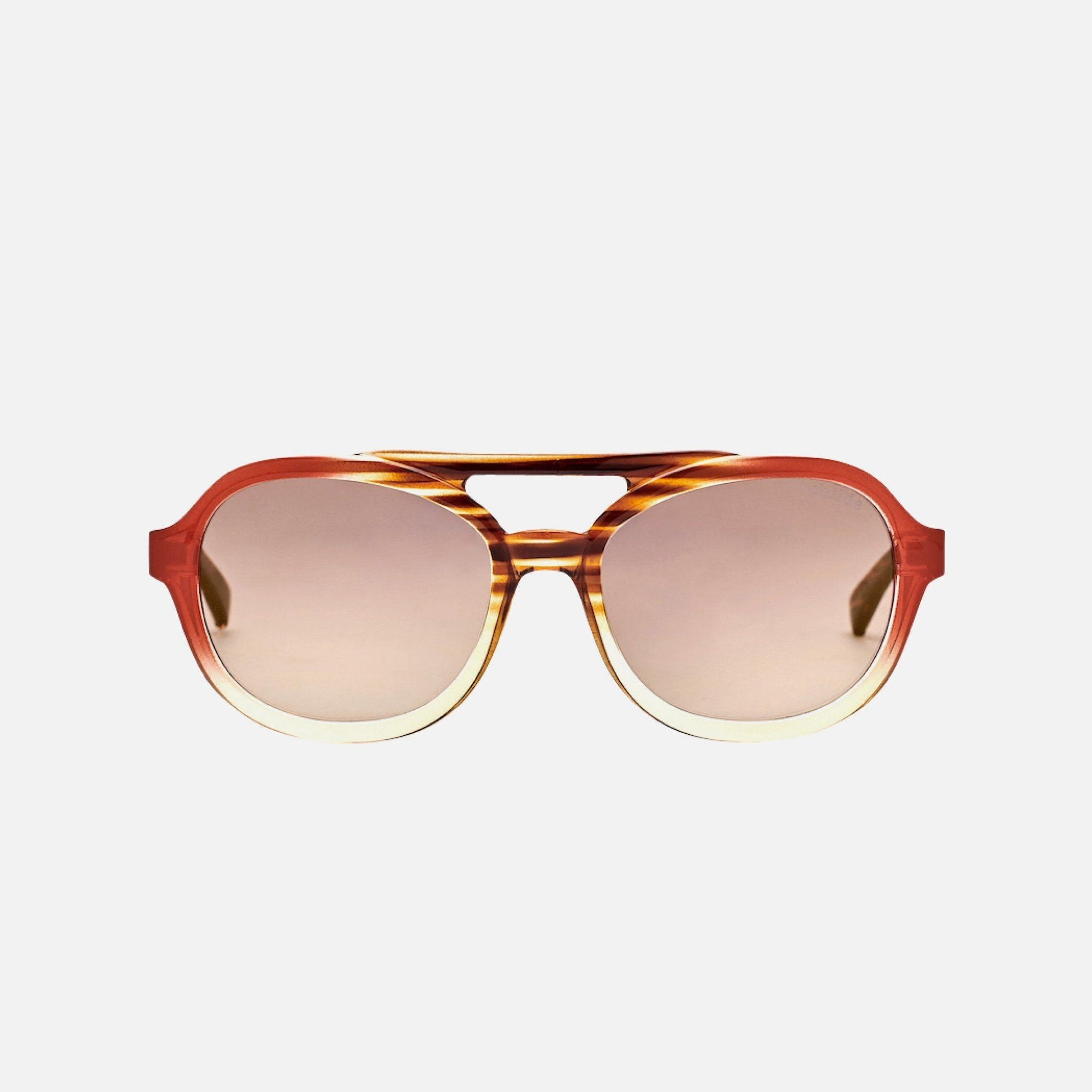 SECRET African Cola | Amber Gradient / Bronze Mirror Lens