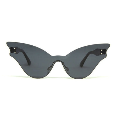 TUPPAWARE Gloss Black | Grey Smoke Lens