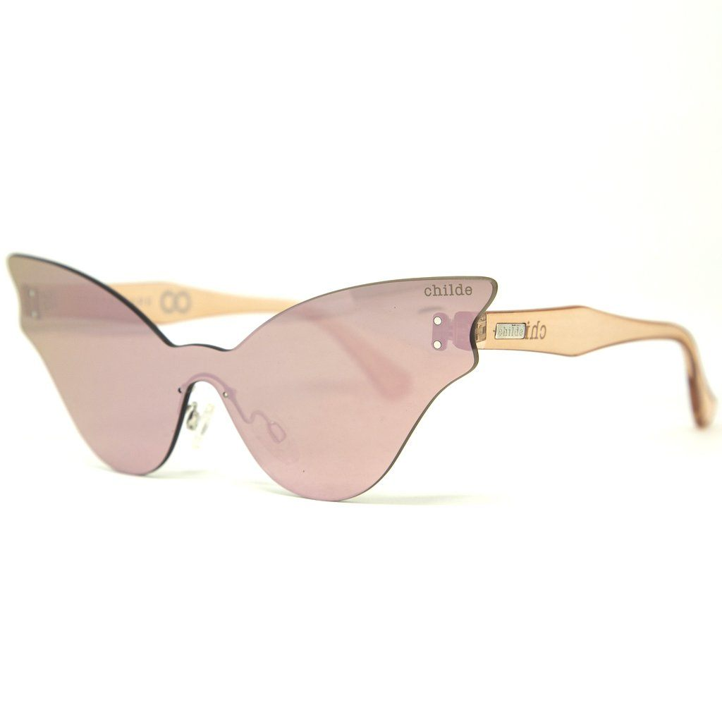 TUPPAWARE Trans Rose | Champagne Mirror Lens