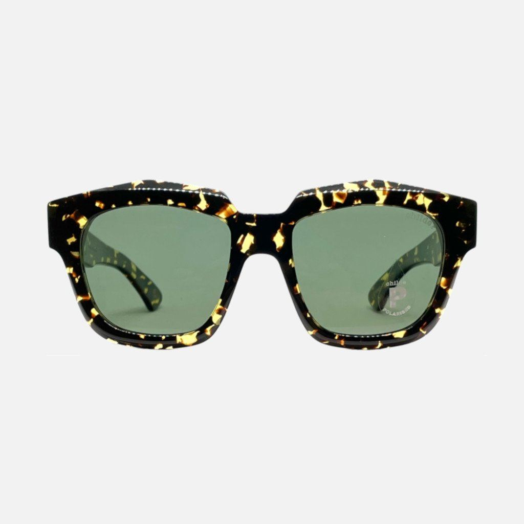 VIVID Bio-Acetate Gloss Tort | Green Polarised Lens