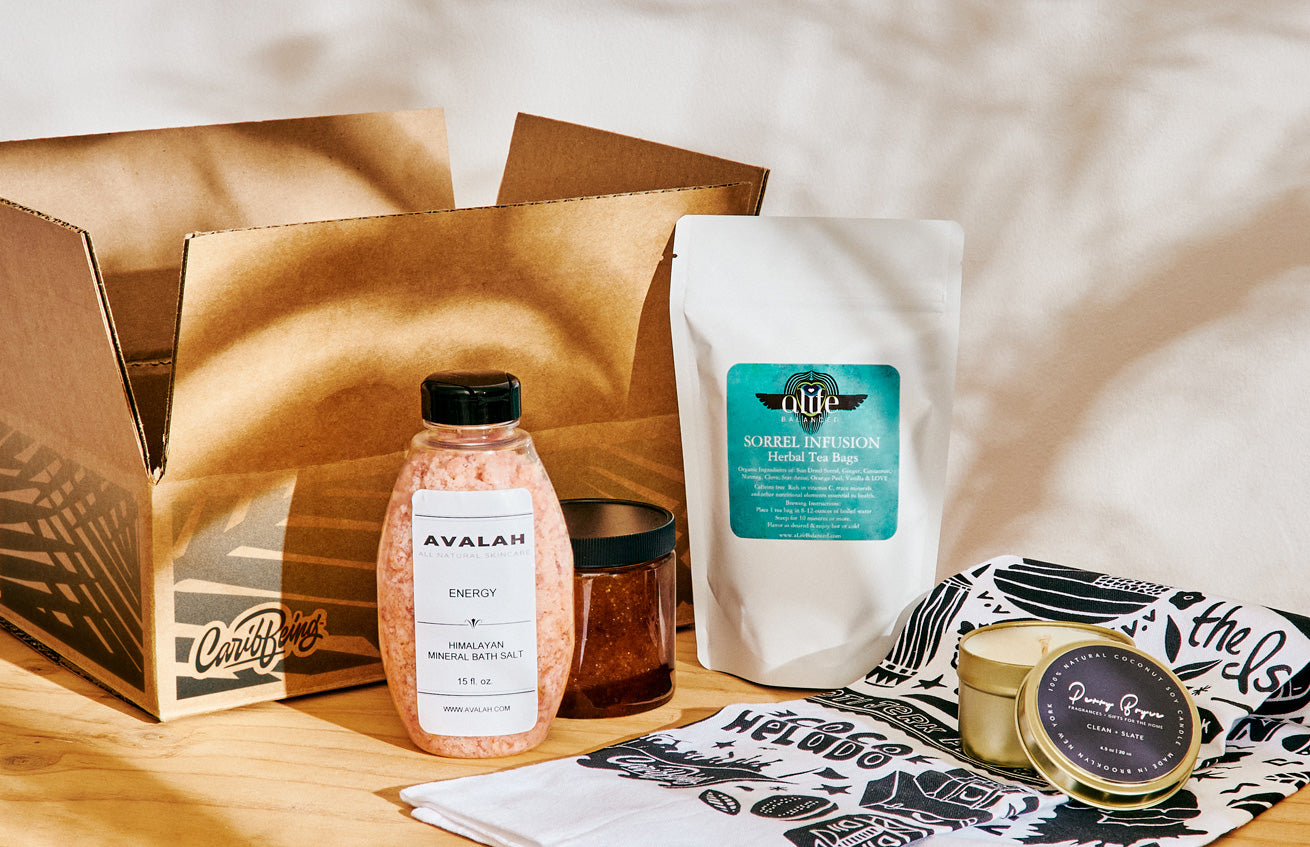 caribBEING x The Sill Self-Care Kit