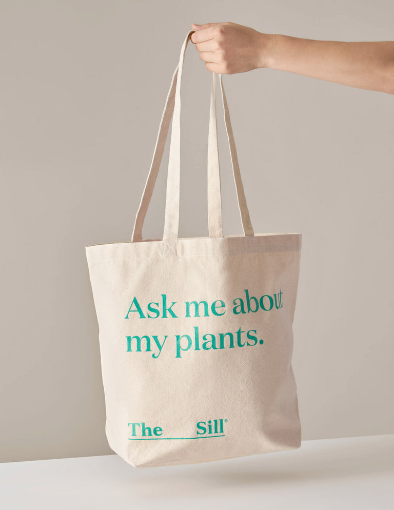 Ask Me About My Plants - Canvas Tote Bag