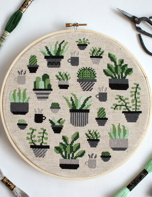 Botany Cross Stitch Kit