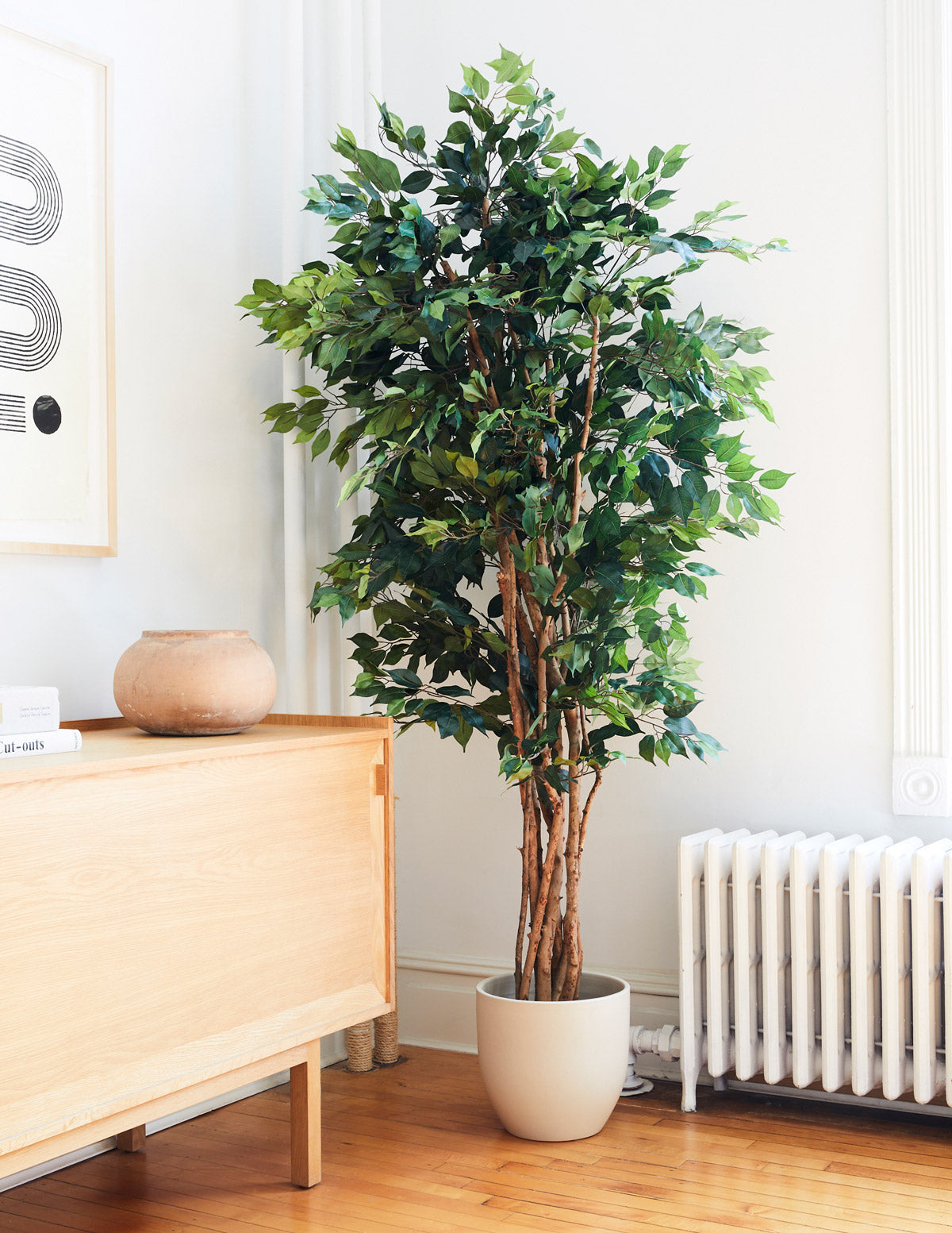 Faux Weeping Ficus Tree