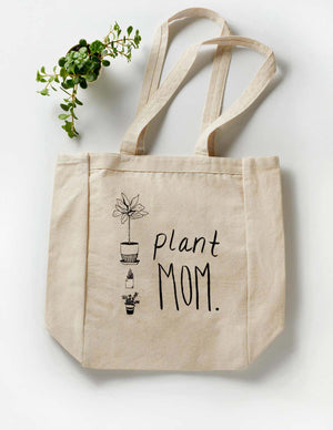 Plant Mom Tote Bag