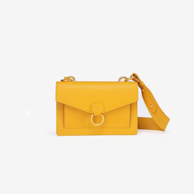 The Envelope Crossbody - Mustard
