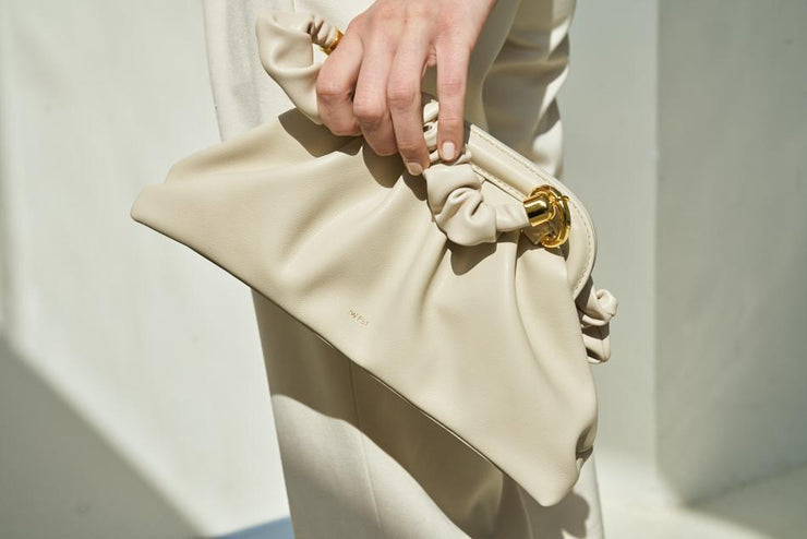 Cloud Top Handle Bag - Beige